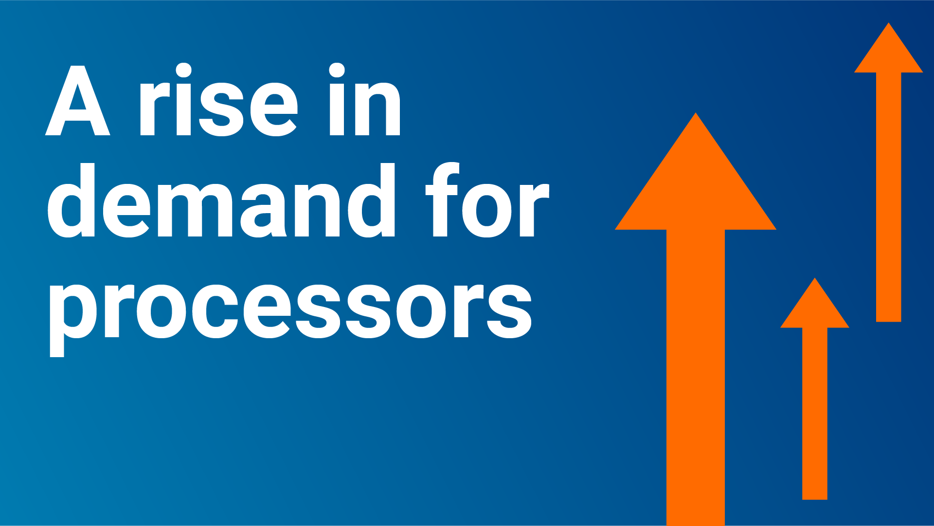 demand for processors
